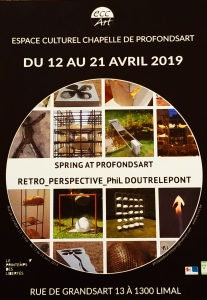 Plaquette exposition Spring at Profondsarr